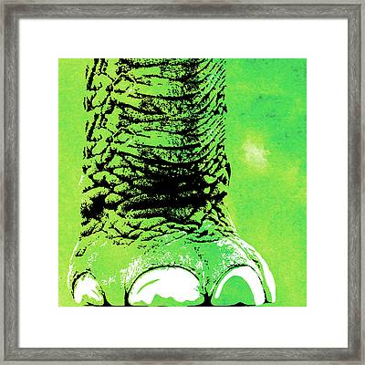 Elephant Animal Decorative Wall Poster 8 Framed Print