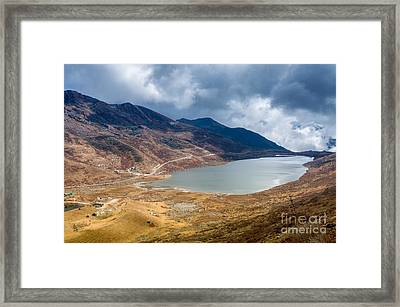 Elephant Lake Kupup Valley Sikkim India Framed Print