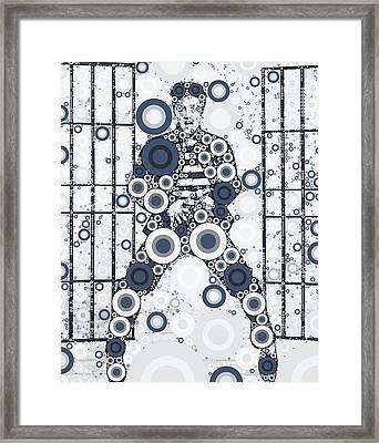 Elvis Presley Framed Print by John Springfield