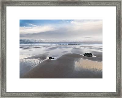 Embleton Bay Framed Print by David Taylor