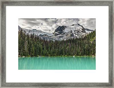 Emerald Reflection Framed Print by Pierre Leclerc Photography