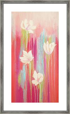 Framed Print featuring the painting Simplicity 2 by Irene Hurdle