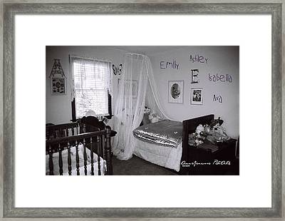 Emily Ashley Isabella Ava Framed Print