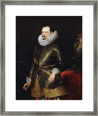Emmanuel Philibert Of Savoy, Prince Of Oneglia Framed Print