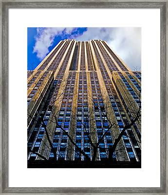 Empire State Building Framed Print by Patrick  Flynn