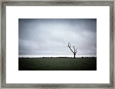 Emptiness Framed Print by Svetlana Sewell