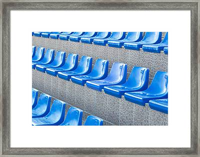 Empty Seats Framed Print