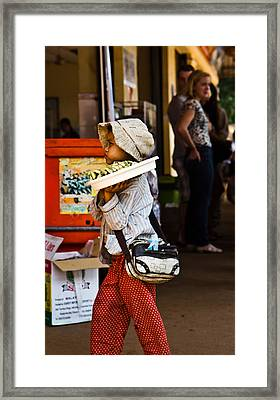 En Route To Siem Reap Framed Print