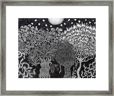 Enchanted Forest Framed Print by Jesse Apple