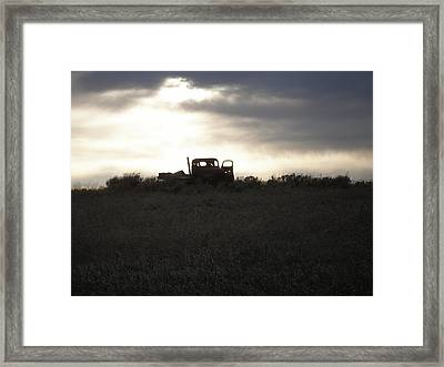 End Of The Road Framed Print by Shane Hayes