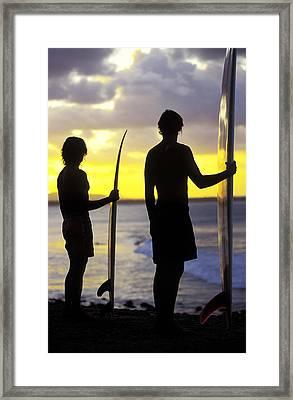 Endless Summer Framed Print by Sean Davey