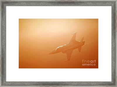 Enlightened Framed Print by Angel  Tarantella
