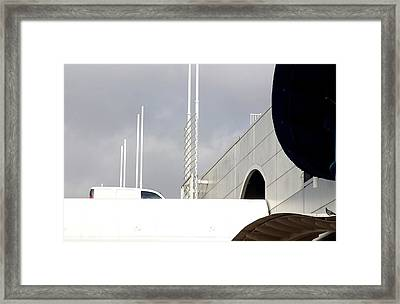 Enter At Your Peril Framed Print by Jez C Self