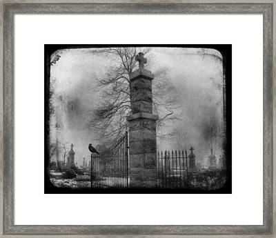 Entrance Framed Print by Gothicrow Images