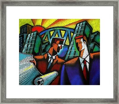 Entrepreneur Framed Print