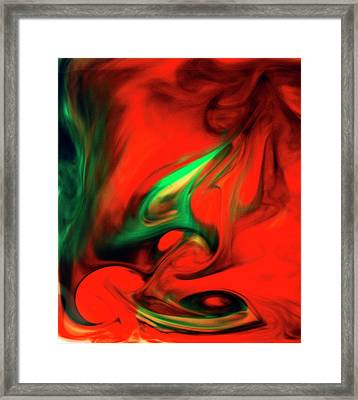 Envy Feeding On Itself Framed Print
