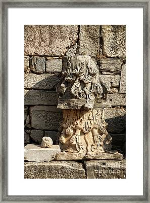 Ephesus Framed Print by HD Connelly