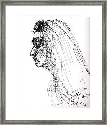 Erbora Framed Print by Ylli Haruni