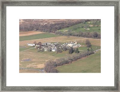 Erdenheim Farm 5051 Flourtown Rd Lafayette Hill Pa 19444 Framed Print by Duncan Pearson