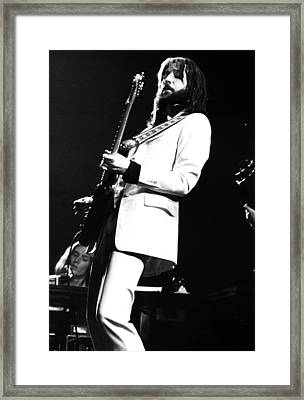 Eric Clapton 1973 Framed Print by Chris Walter