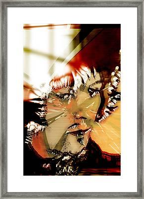 Eric Clapton Art Framed Print by Marvin Blaine