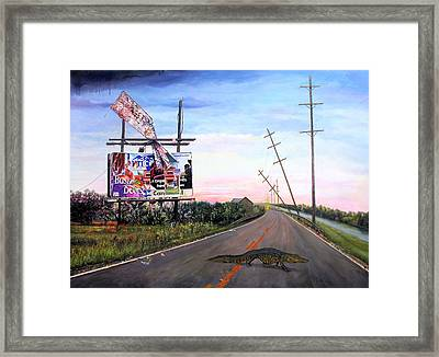 Escape Artist Framed Print by Richard Barone