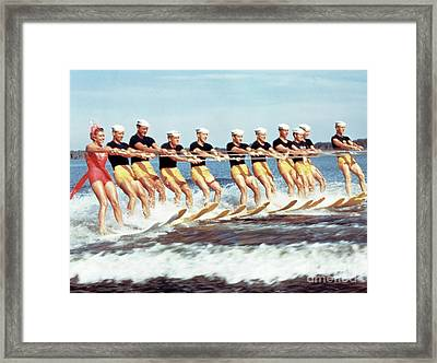 Esther Williams Framed Print by The Harrington Collection