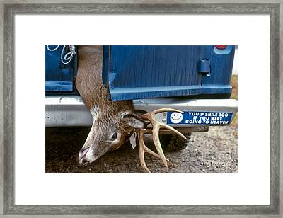 Eternal Reward Framed Print by Thomas Marchessault