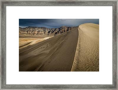 Eureka Dunes Framed Print by Cat Connor