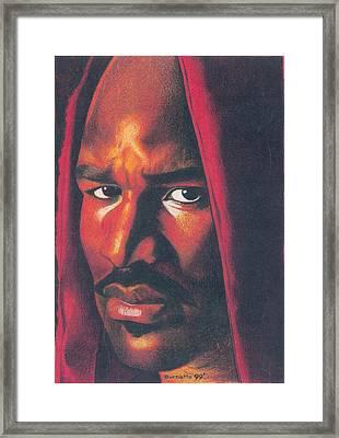 Evander Holyfield Framed Print