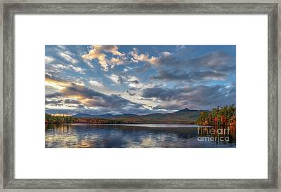 Evening At The Lake Framed Print by Scott Thorp