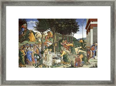 Events In The Life Of Moses Framed Print