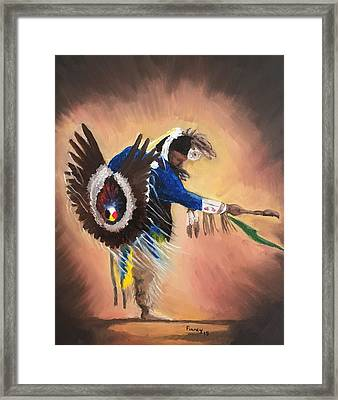Everybody Dance #1 Framed Print