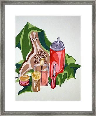 Everyday Items Framed Print by Tammera Malicki-Wong
