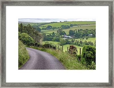 Exmoor - England Framed Print by Joana Kruse