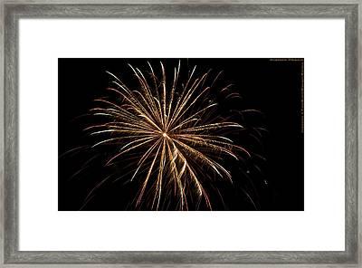 Explosive Flowers 5 Framed Print by Heinz - Juergen Oellers