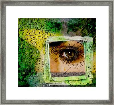 Eye, Me, Mine Framed Print