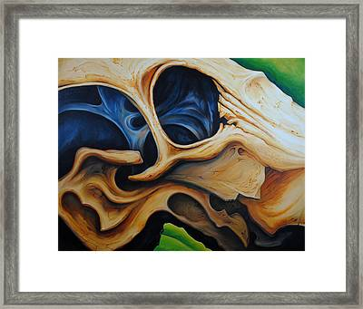 Eye Socket Framed Print