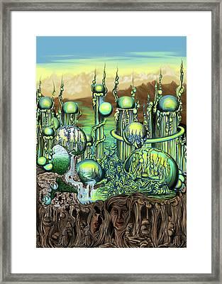 Ezmerelda Framed Print by Ben Christianson