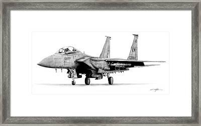 F-15e Strike Eagle Framed Print by Dale Jackson