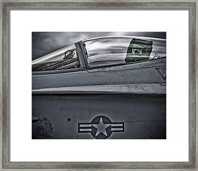 F-18 Super Hornet Framed Print