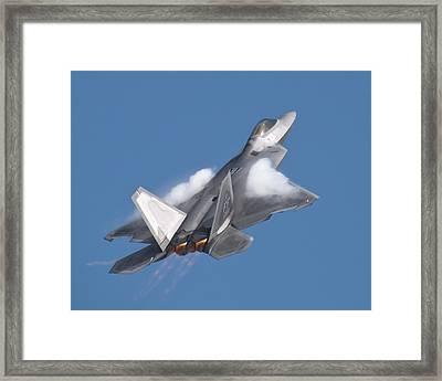 F-22 Raptor Framed Print