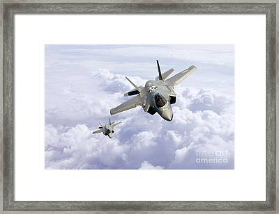 F35 Lightning II Framed Print