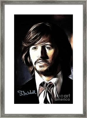 Fabulous Ringo Framed Print