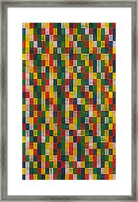 Fac5vertical Framed Print by Joan De Bot