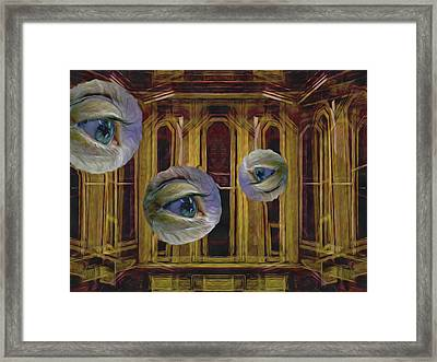 Facade Framed Print by Lynda Lehmann