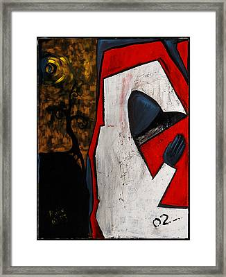 Faceless 48x36 Framed Print