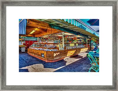 Fairfax Farmers Market Framed Print