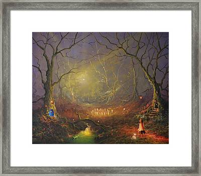 The Fairy Ring Framed Print