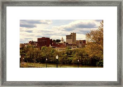 Fairmont West Virginia Framed Print by L O C